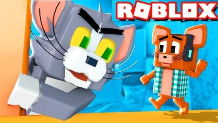 小格解说 Roblox 猫和老鼠:游乐园解密逃生!穿越海绵宝宝世界?乐高小游戏