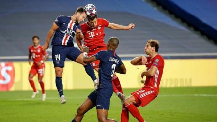 欧冠决赛大巴黎和拜仁进攻高清集锦,恭喜拜仁第六次获得欧冠