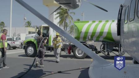 侣行:侣行夫妇自驾飞机墨西哥海边跑道起飞,别有一番风景