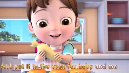 《超级宝贝JOJO》超级宝贝JOJO做蛋糕啦,第三个蛋糕做好啦