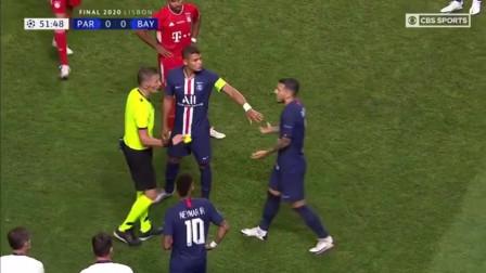 欧冠决赛全场集锦,拜仁1:0巴黎圣日尔曼,科曼头球破门