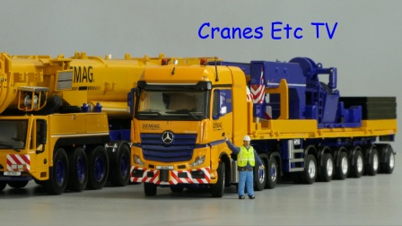 Mercedes-Benz Arocs SLT 'Demag' by Cranes Etc TV