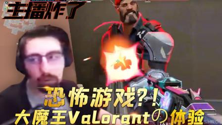主播炸了Valorant篇12:恐怖游戏!大魔王Valorantの体验