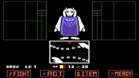 传说之下战斗模拟器:chara大战羊妈