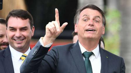 家中第四位确诊!巴西总统长子感染新冠 已开始学父亲服用羟氯喹