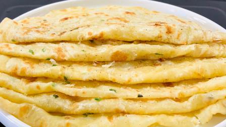 葱油饼最好吃的做法,葱香味浓又酥软,秘诀都告诉你,想失败都难