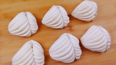 家常小花卷创意做法,一根筷子轻松做出来,好吃好看好简单