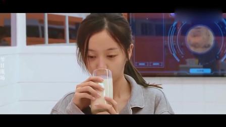 女明星喝奶茶都不会胖的吗:林允一天喝了六斤,海涛:都不能用杯算