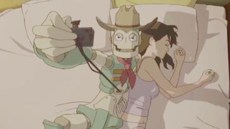 女孩太单纯,盲目相信陌生人,机器人露出邪恶本性