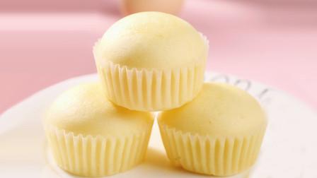 教你做老式鸡蛋糕,2个鸡蛋1碗面粉,做法简单,出锅就满屋飘香