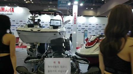 韩国国际游艇展KIBS美女模特出场到入席一镜到底超高清饭拍秀