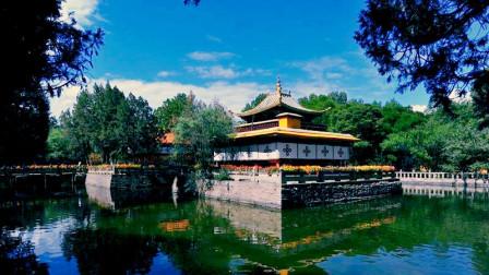 罗布林卡 达赖喇嘛的夏宫 西藏拉萨的颐和园