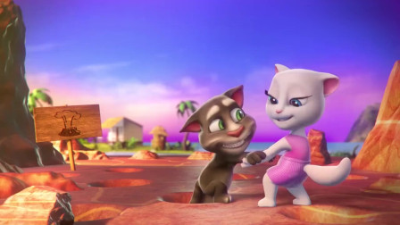 我的汤姆猫:汤姆真调皮,居然跑马桶里了,这身上得啥味