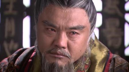 太监欲帮刘邦拿宝剑,没想到刘邦1个眼神,就吓得他心惊胆战!
