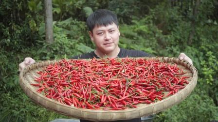 """教大家做""""泡椒"""",川菜里不可缺少的一味调料,酸酸辣辣特有味"""