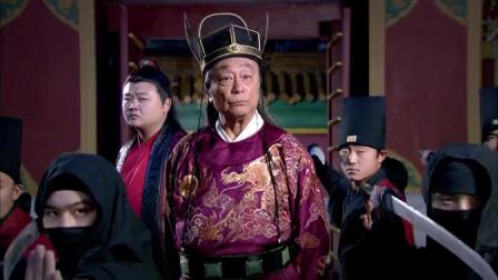 九千岁带着一群杀手刺杀皇上,御林军及时赶到,反被俘虏