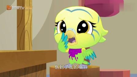 至Q宠物屋:美丽的鹦鹉小姐,最近实在是太倒霉了,好心疼啊!