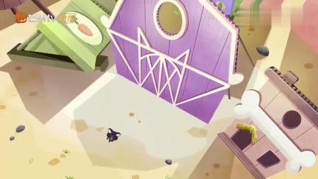 至Q宠物屋:鹦鹉艾迪把片场弄得一团糟,差点打伤小玉!