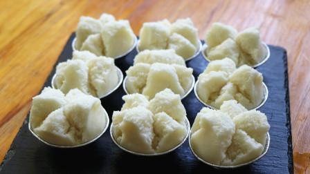 家里有面粉的试试做棉花糕,香香甜甜的,口感像棉花一样