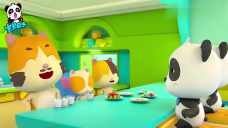 宝宝巴士:创意料理很有趣,小朋友一起来做美食,一定很有趣