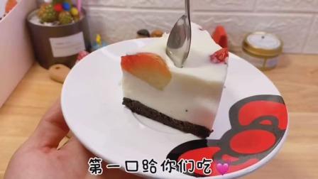 低卡减脂必备草莓慕斯呦颜值口味并存,也不需要烤箱草莓慕斯低卡减脂