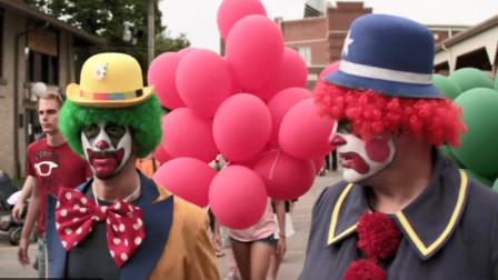 恐怖分子抢劫银行,伪装成游乐园小丑,被杰森一眼看破