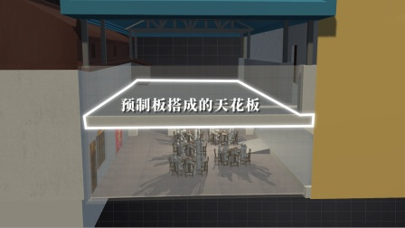 3D还原山西襄汾坍塌饭店:分6次改建而成 上有彩钢板下有地下室