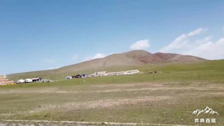 青海海北藏族自治州海晏县美丽草原风光 广阔的草原迷人的风景
