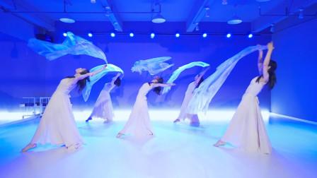 现代舞《海底》,美妙的纱舞,人鱼公主即视感!