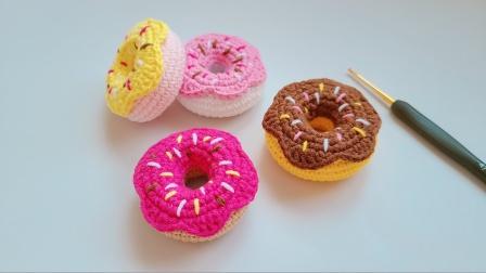 """钩针甜甜圈:高端的""""食材""""往往只需要采用最朴素的针法编织"""