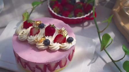 草莓的季节,怎么可以少了颜值超高的慕斯呢,酸酸甜甜太美味了。#慕斯