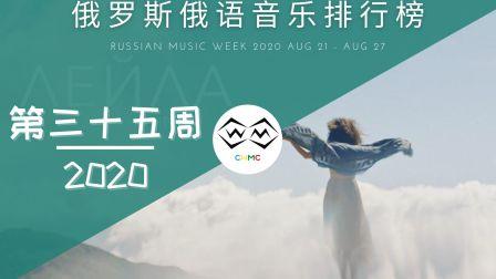 2020第34周丨俄罗斯俄语音乐排行榜