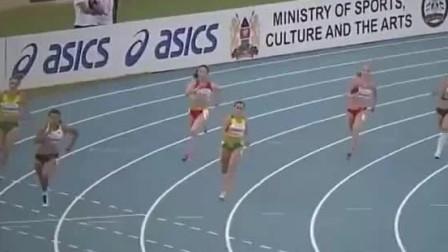 第五道中国美少女刘静逸!2017世少赛女子七项全能200米比赛