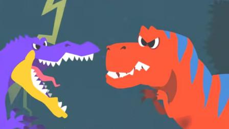侏罗纪世界 恐龙总动员 恐龙玩具视频220