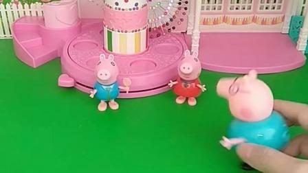 小猪佩奇玩具:乔治要给爸爸打0分194