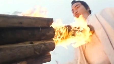 东瀛柳生神对战玄天斩日剑,没想上官无极更强,竟用木桩击败他