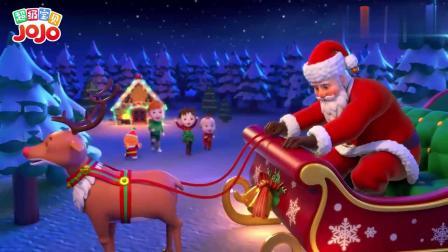 超级宝贝:宝宝的姜饼屋完成了,圣诞爷爷来了,去看宝宝的姜饼屋!