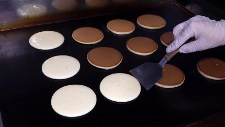 日本街头的爆款美食:铜锣烧!做法简单又美味,学会在家也能做哦