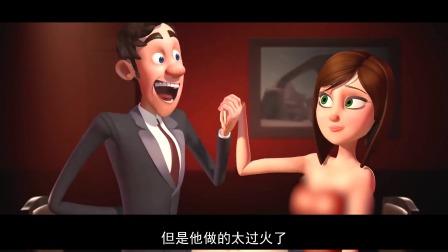 爱情短片《左右脑》,男孩约会时的精分表现,只因是左右脑在