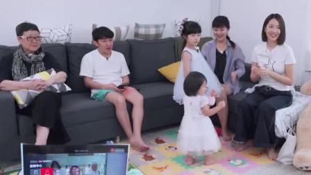 王祖蓝开家庭演唱会,唱自己的歌还要付钱,女儿跟着节奏跳舞