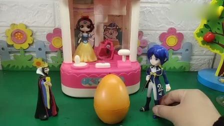 小猪佩奇玩具:王子能成功救出白雪吗?