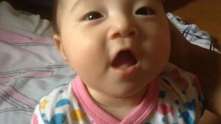 刚出生的新生儿竟会说话?宝宝说婴语的模样,直接把大人都逗笑了