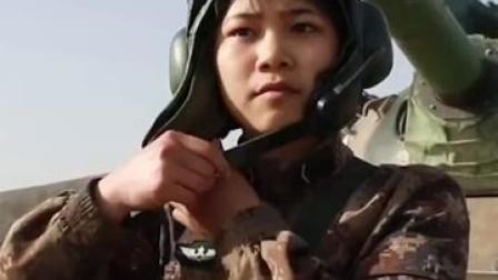 """还记得""""地表最飒"""" 坦克女兵吗?00后坦克女兵战地上过19岁生日。小仙女,生日快乐❤️"""