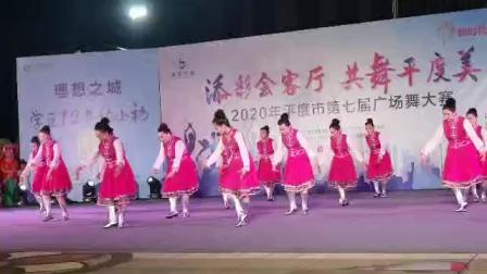 我们的团队荣获2020年第七届新河广场舞大赛一等奖《点赞新时代》