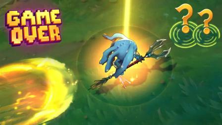 LOL:游戏中的搞笑时刻,一个蓝BUFF引起的逗比惨案