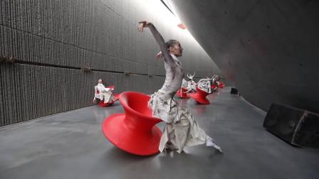 中央民族大学《年轮》,这样的舞蹈编排艺术,一般人看不明白!