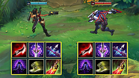 LOL:神装新英雄莎弥拉VS神装劫,哪个英雄更强?
