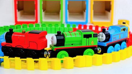 火车玩具故事:太棒了!托马斯带来了哪些新朋友呢?