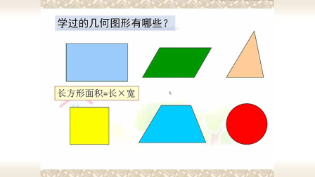 小学数学五年级上册平行四边形的面积推导