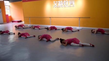 南部县伏虎艾特文化艺术培训学校中国舞三级班考级视频